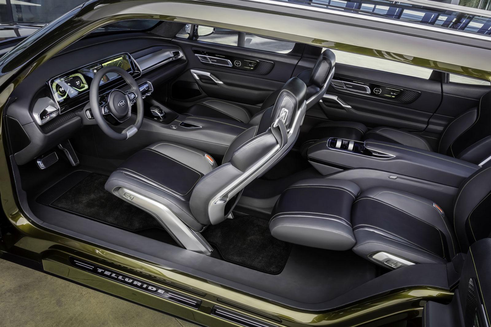 World Car Kia >> Kia Telluride Concept Interior - Car Body Design