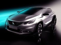 Peugeot unveils restyled 2008