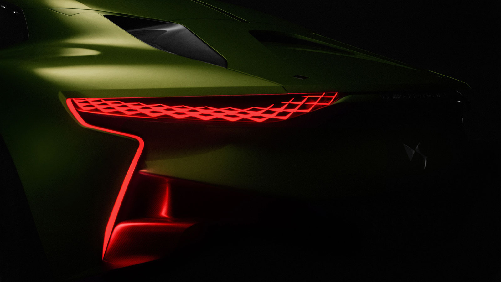 Ds E Tense Concept Tail Light Car Body Design