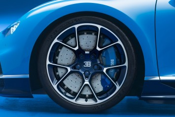 Bugatti Chiron detail - Wheel design