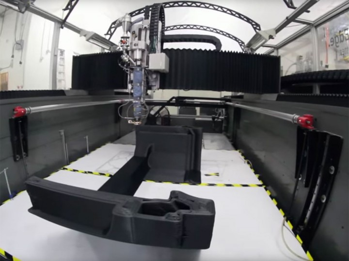 Local Motors' video shows large scale 3D printing