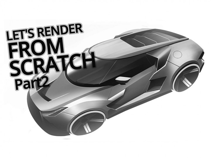Car Rendering from scratch