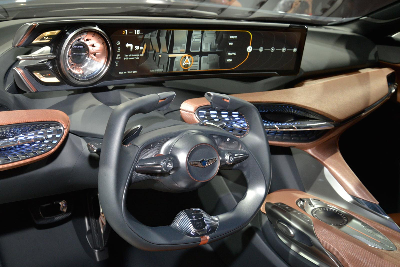 Genesis New York Concept At Ny Auto Show 2016 Interior
