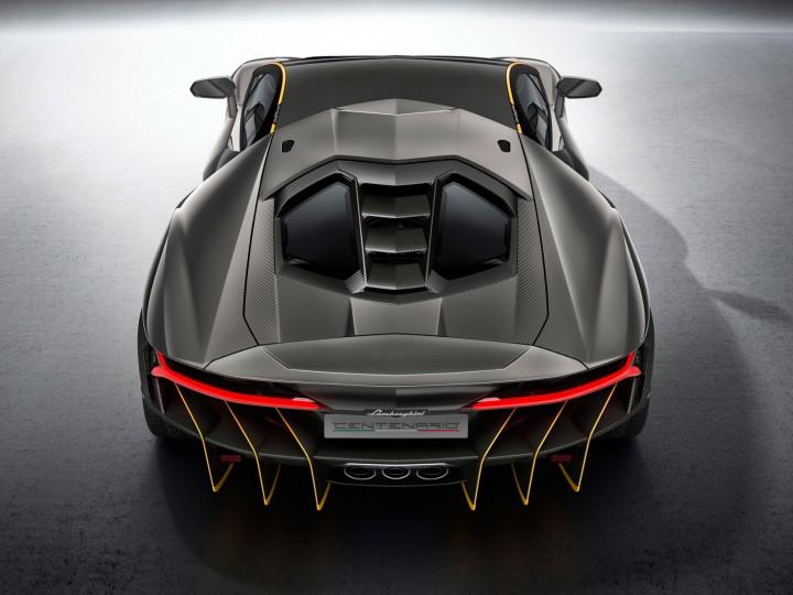 Lamborghini Centenario Car Body Design