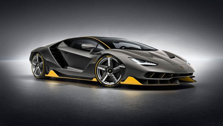 Lamborghini Centenario Car Body Design