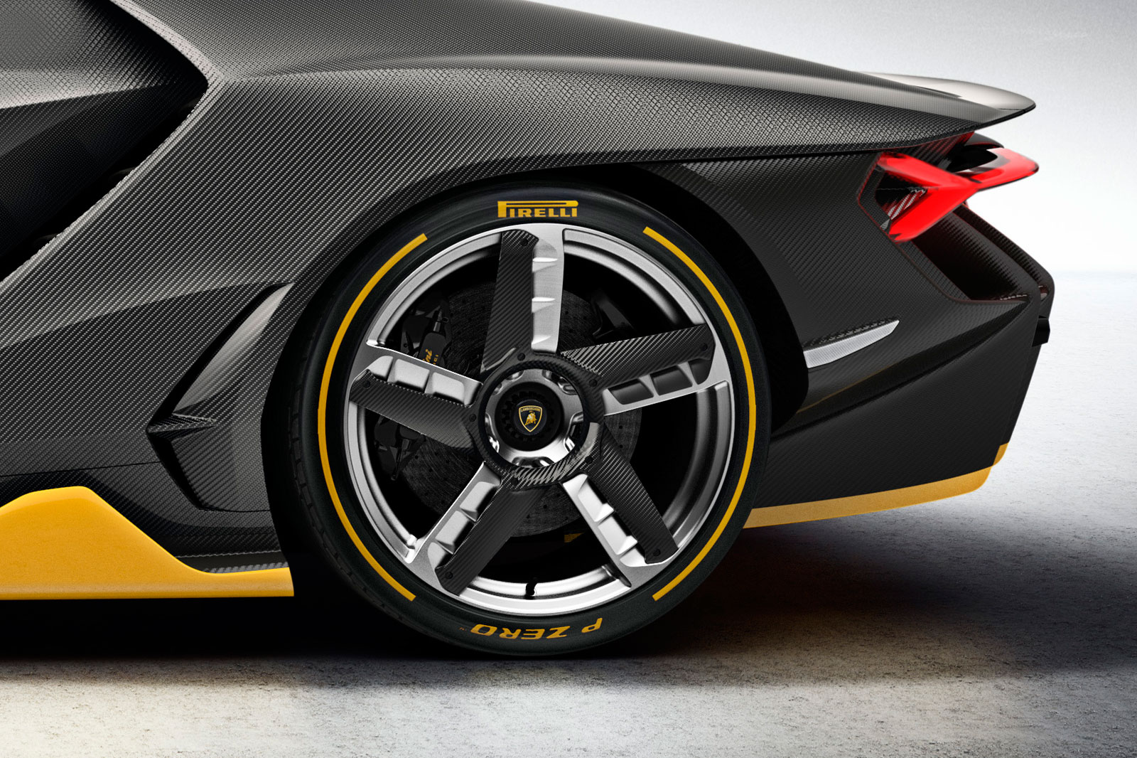 Lamborghini Centenario rear wheel