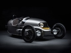 Morgan EV3 is a retro-futuristic electric 3 wheeler