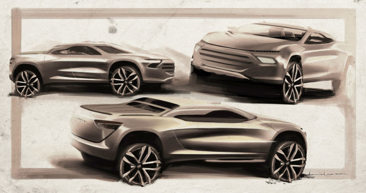 Fiat Toro Design Sketches