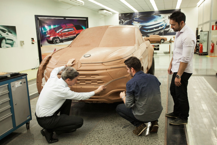 Fiat Toro - Design Process - Clay Model
