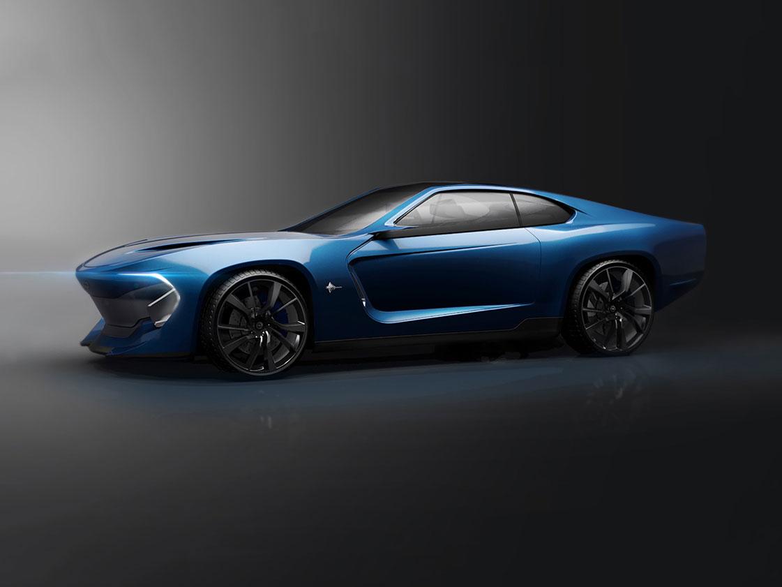 Opel Manta Concept Car Body Design