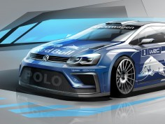 Volkswagen Polo R WRC: preview sketch