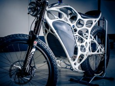 Airbus unveils 3D-printed motorcycle with bionic design