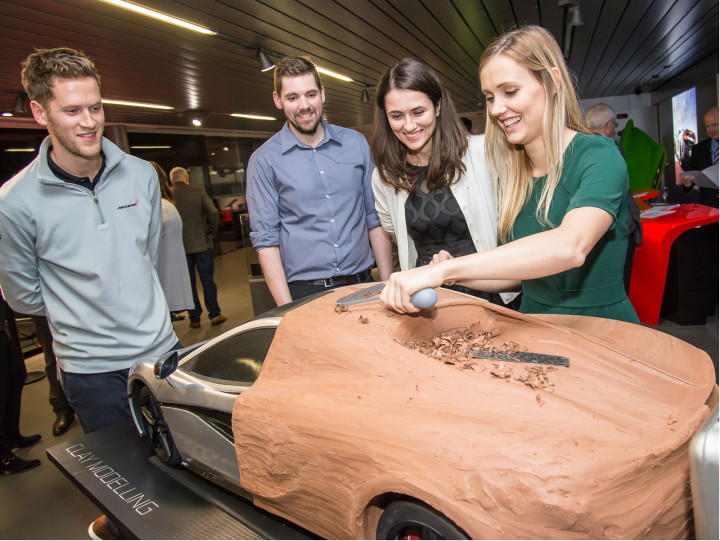 McLaren Design Tour Event - Clay Modeling