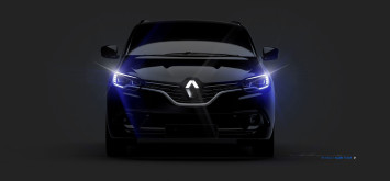 New Renault Scenic Headlight Design Sketch Render by Stefano Bolis