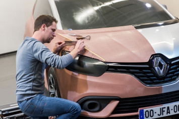 New Renault Scenic Clay modeling