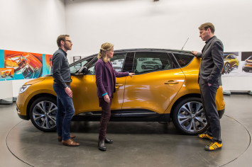 New Renault Scenic Design Review