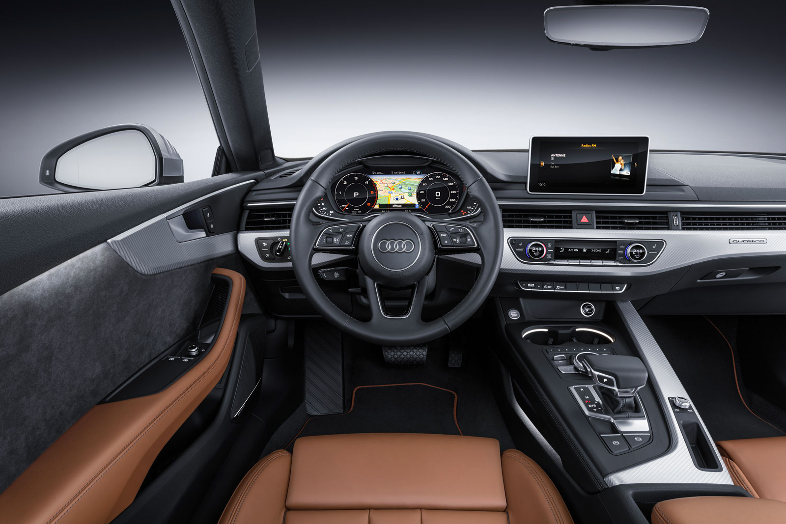 2016 Audi A5 Coupe Interior Car Body Design