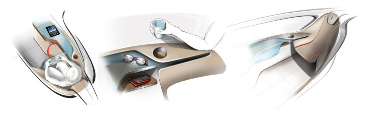 IED Pininfarina InsideOut Concept - Interior design details