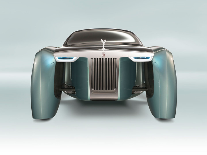 Rolls-Royce 103EX envisions the future of luxury mobility