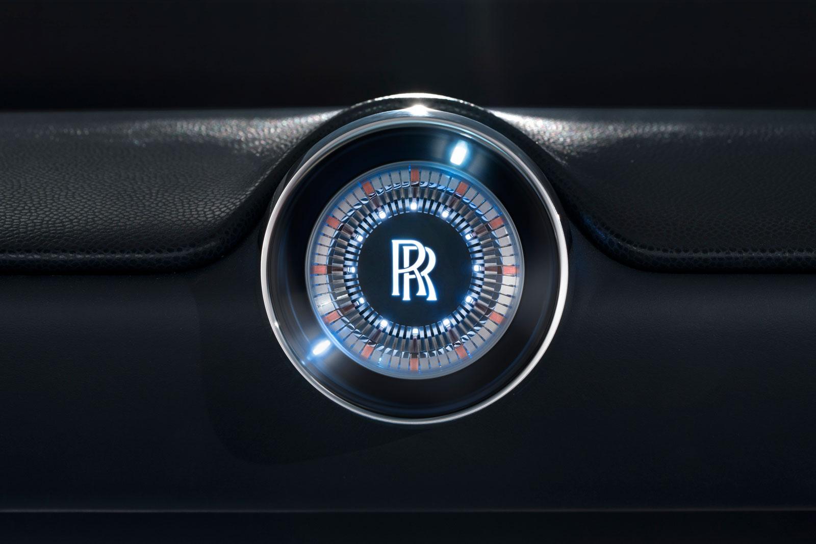 Rolls Royce Vision Next 100 Concept Interior Clock Detail Car