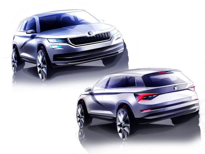 Skoda Head of Design Jozef Kabaň on the upcoming Kodiaq SUV