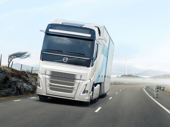 Volvo unveils highly efficient Concept Truck