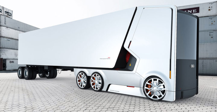 Audi Truck Concept A by Artem Smirnov and Vladimir Panchenko