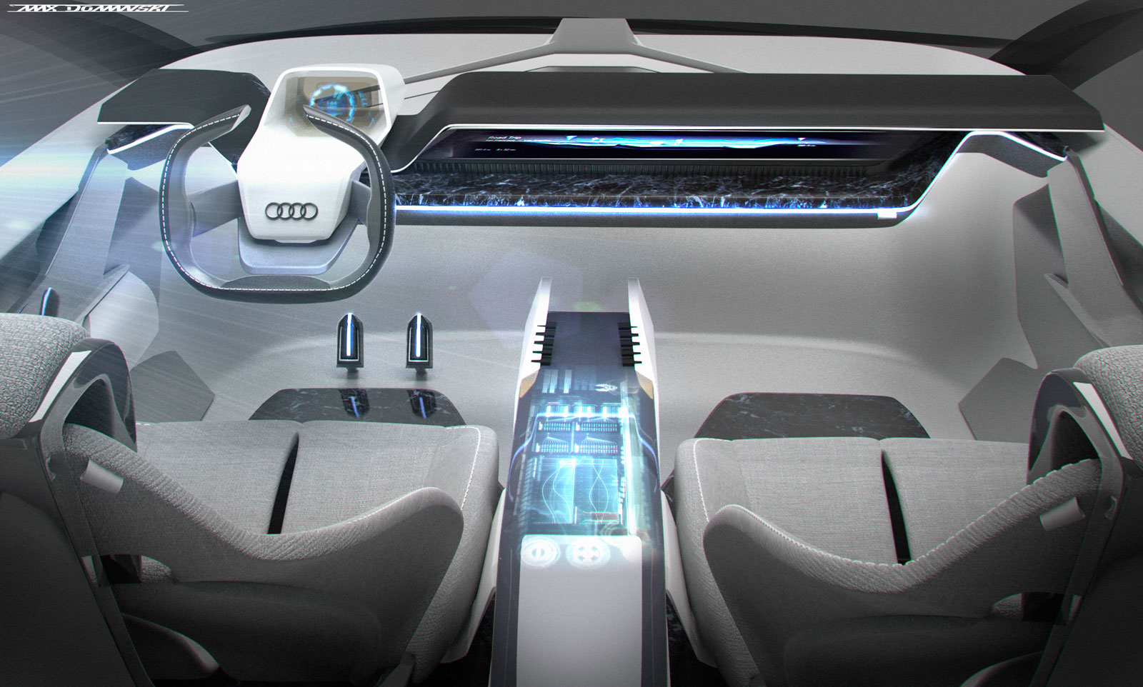 Audi Type53 Concept Interior render