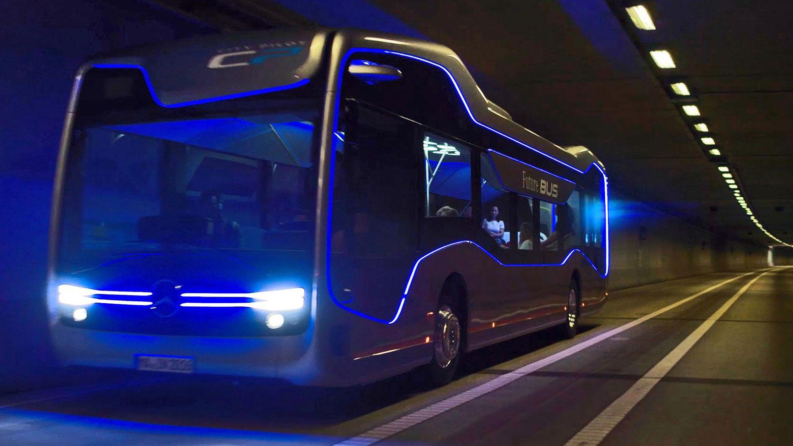 World Car Kia >> Mercedes-Benz Future Bus Concept - Car Body Design
