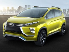 Mitsubishi XM Concept previews compact crossover