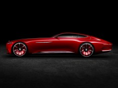 Vision Mercedes-Maybach 6 is a six-meter-long electric super-coupe