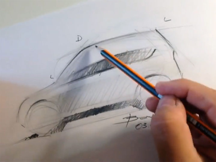 Drawing Cars: Line Quality Exercises for beginners