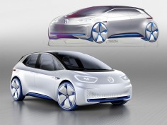 Volkswagen I.D. Concept previews electric model for 2020