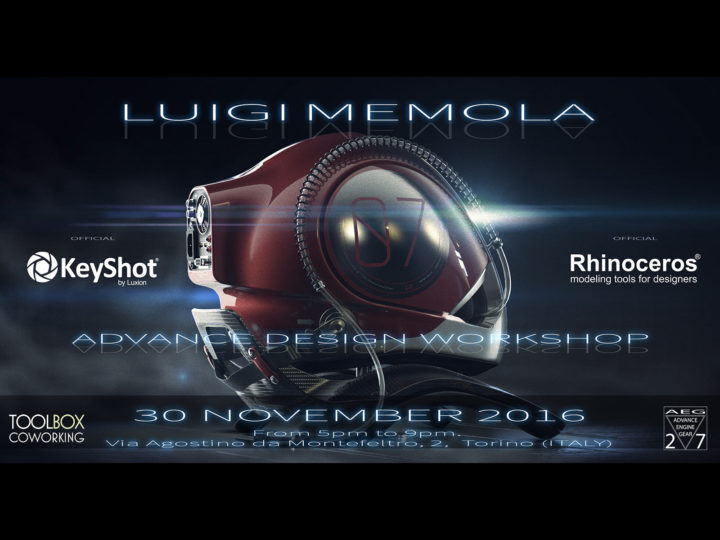 Advanced Design Workshop 2016 by Luigi Memola (Turin, Nov 30)
