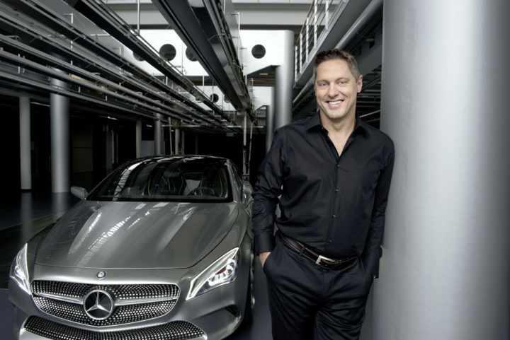 daimler chief design officer gorden wagener