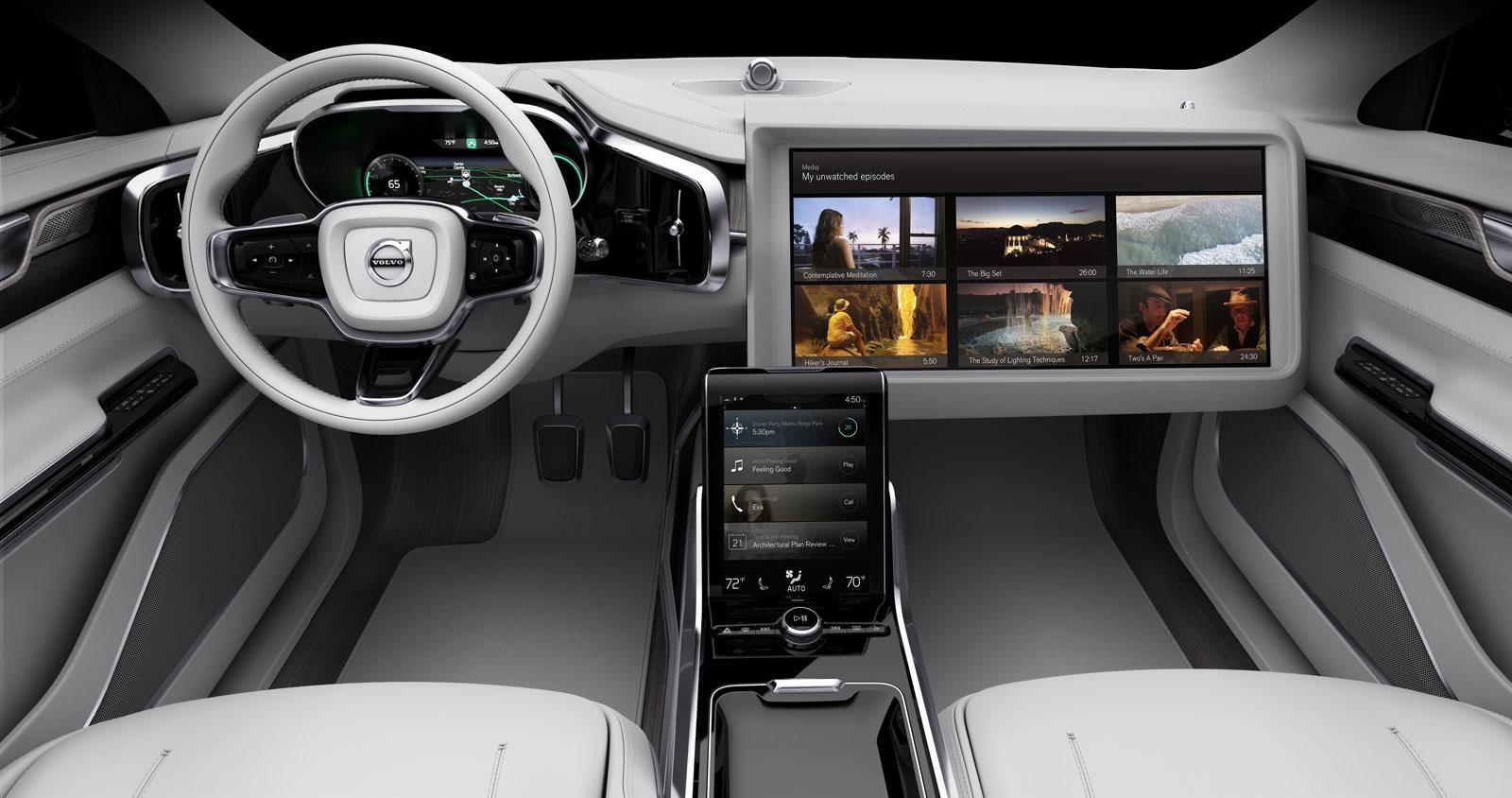 Concept 26 Volvo S Vision For The Future Interior Design