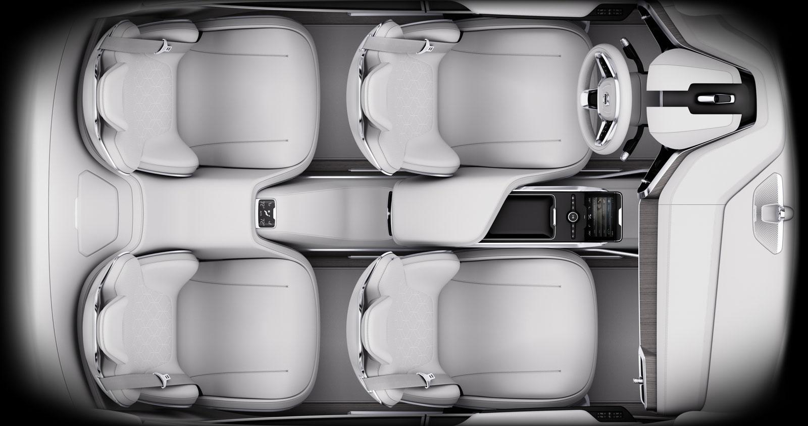 Concept 26: Volvo's vision for the future interior design of autonomous vehicles - Car Body Design