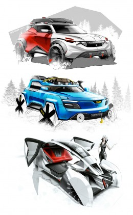 Concept Design Sketches by Julien Fesquet