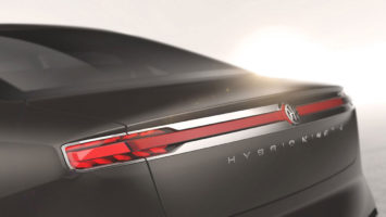 Pininfarina H600 Tail lights detail