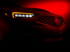 Acura teases restyled TLX