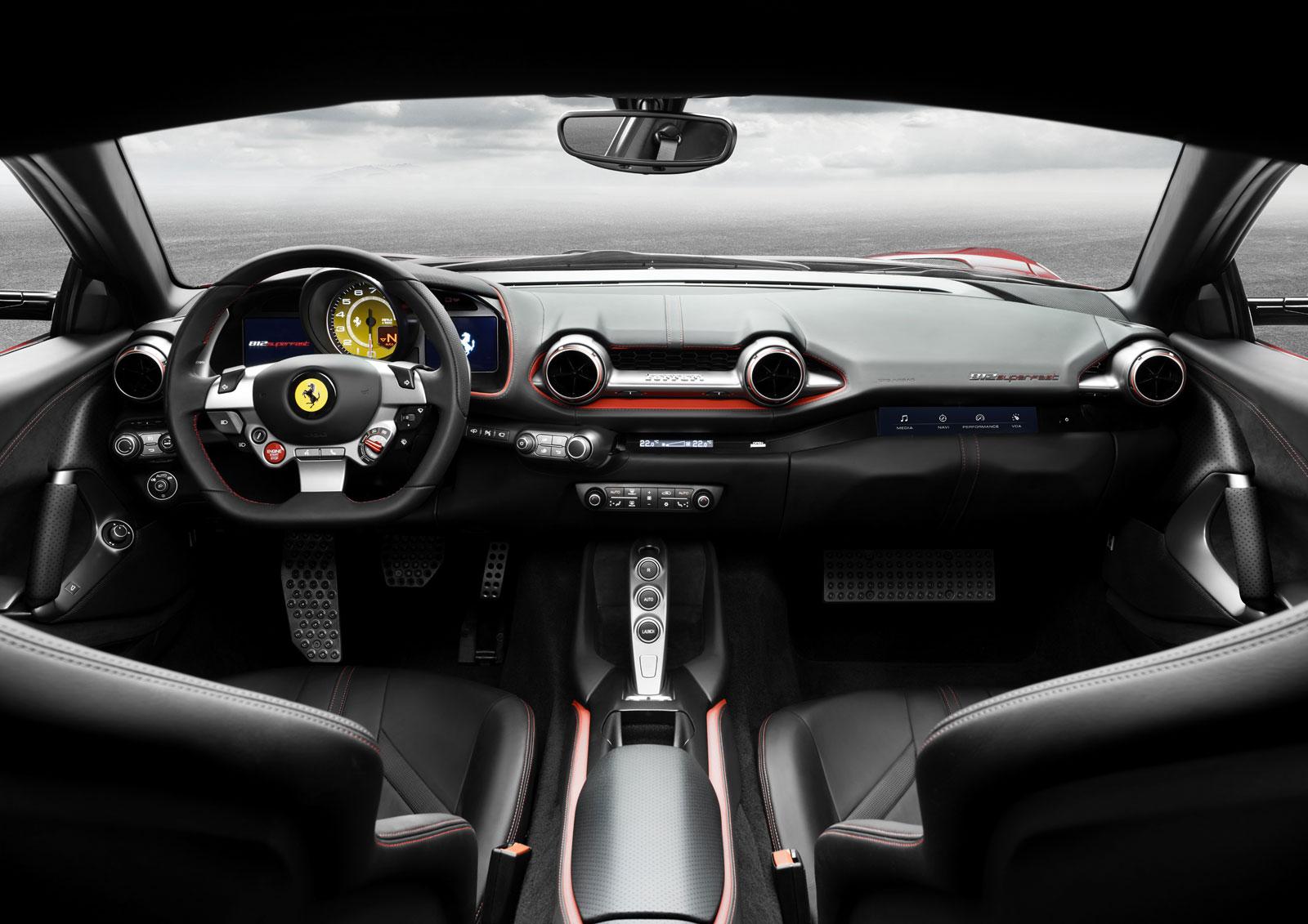Ferrari 812 Superfast Interior Car Body Design