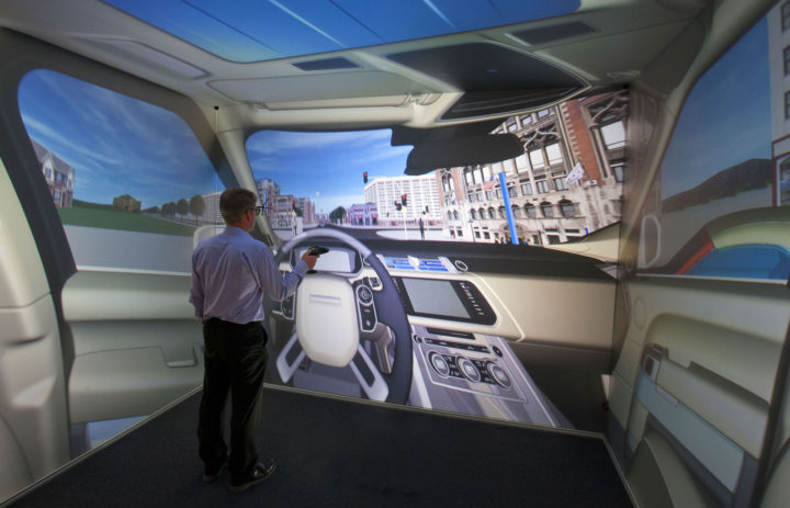 Jaguar Land Rover Virtual Innovation Centre in Gaydon