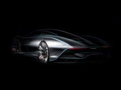 McLaren Hyper-GT: new design sketches