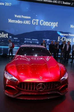 Mercedes AMG GT Concept at the 2017 Geneva Show