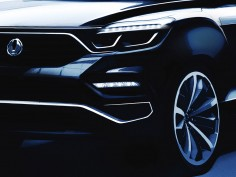 SsangYong teases flagship SUV