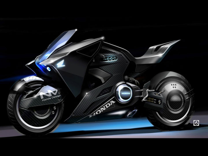 Honda Vultus Concept Bike featured in Ghost in the Shell
