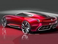 MG is back: the E-Motion Concept