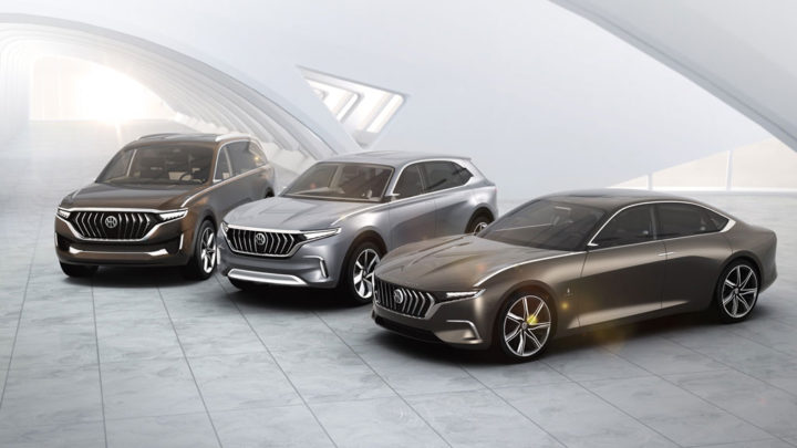 Pininfarina HK K550 K750 and H600 Concept cars