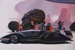 2011 Concept Art by Syd Mead