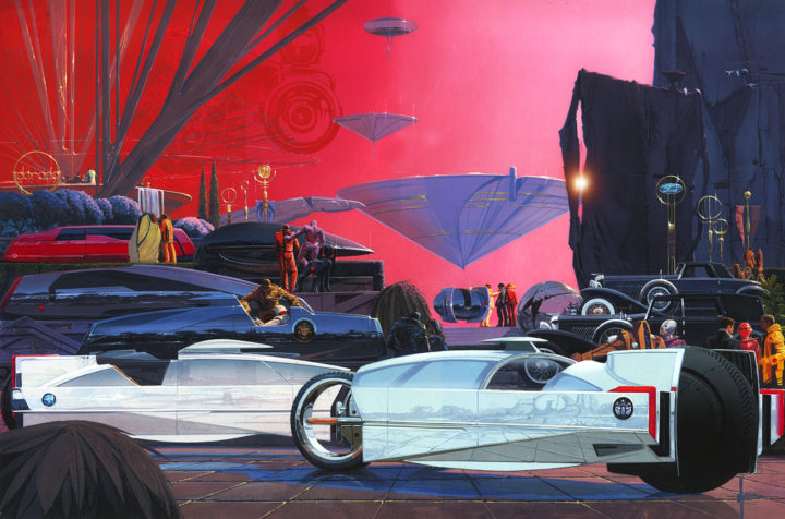 EyesOn Design 2017 poster by Syd Mead